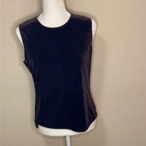 Laura Ashley velveteen sleeveless Tank Top